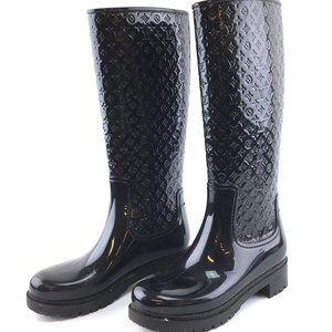 Louis Vuitton Monogram Rubber Splash Rain Boots